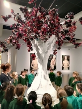 De visita en el museo