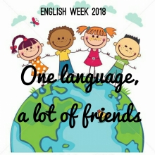 cartel de la english week