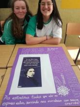 Alumnas con trabajo de Rosalía