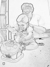 Niños y abuelos