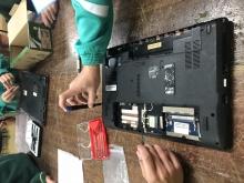 portátil desmontado