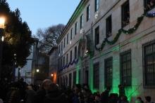 Colegio iluminado